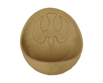 Helige Ande, keramik (vigvattenskål)