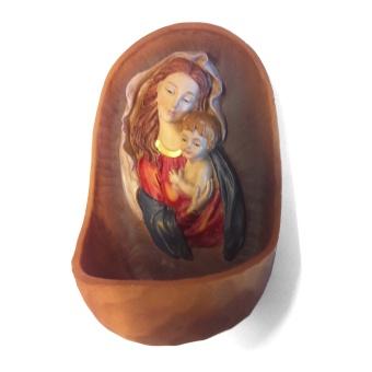 Maria med Jesusbarn (vigvattenskål)