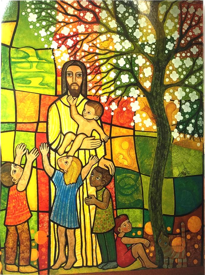 Jesus, barnens vän
