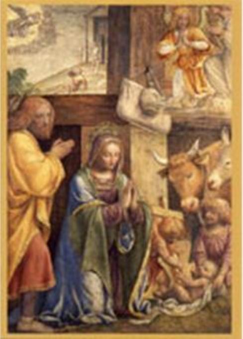 Kristi födelse (Luini 14-1500-talet)