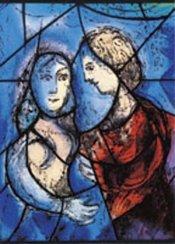 Kärlekspar (Chagall)