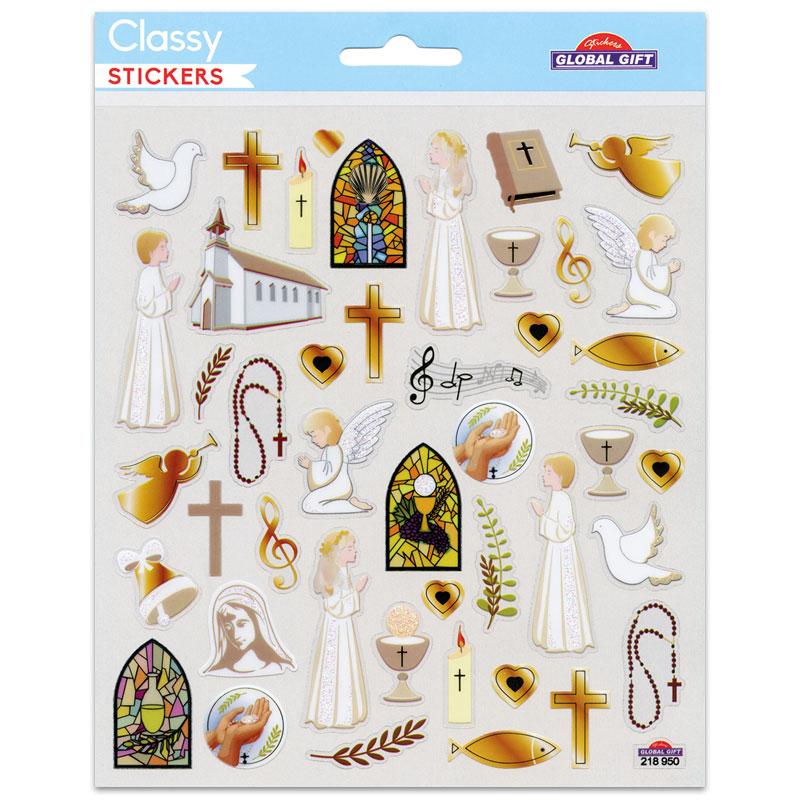 Klistermärken - Kristna symboler