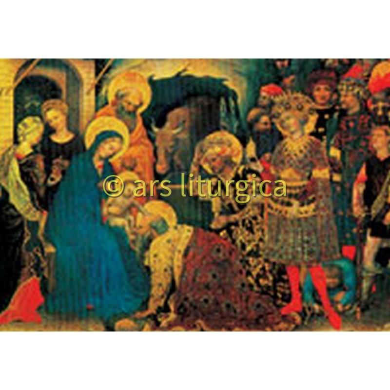 Vise männens tillbedjan (Gentile da Fabriano)