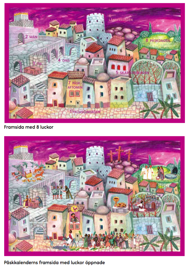 Påskkalender 1