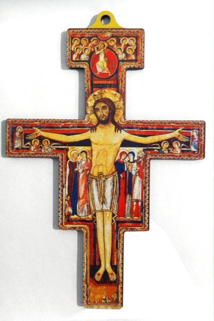 San Damiano-kors, 18 x 12 cm