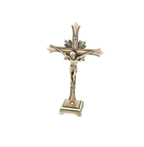 Krucifix, stående, metall