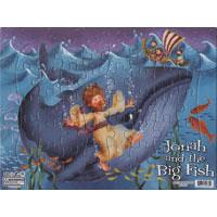 Pussel (40 bitar), Jona och stora fisken