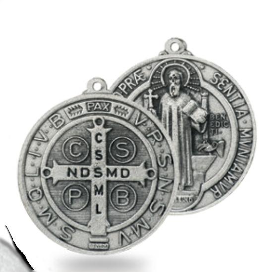 Benedictus-medalj, 4,5cm