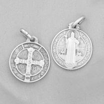 Benedictus-medalj - silver, mindre