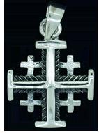 Jerusalemkors - silver