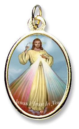 Gudomliga barmhärtigheten, färg