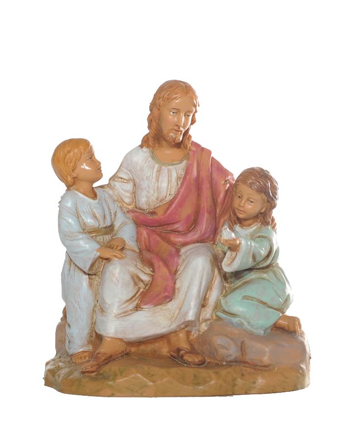 Kristus med 2 barn, 12 cm