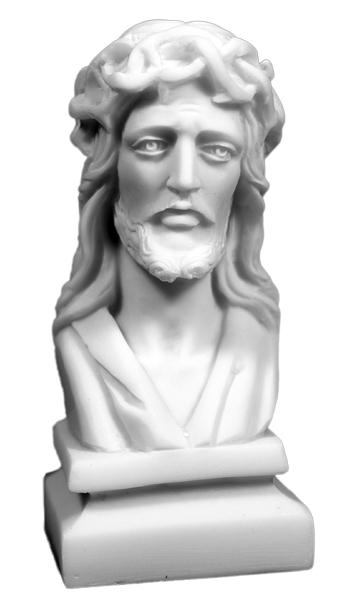 Kristus med törnekrona, alabaster