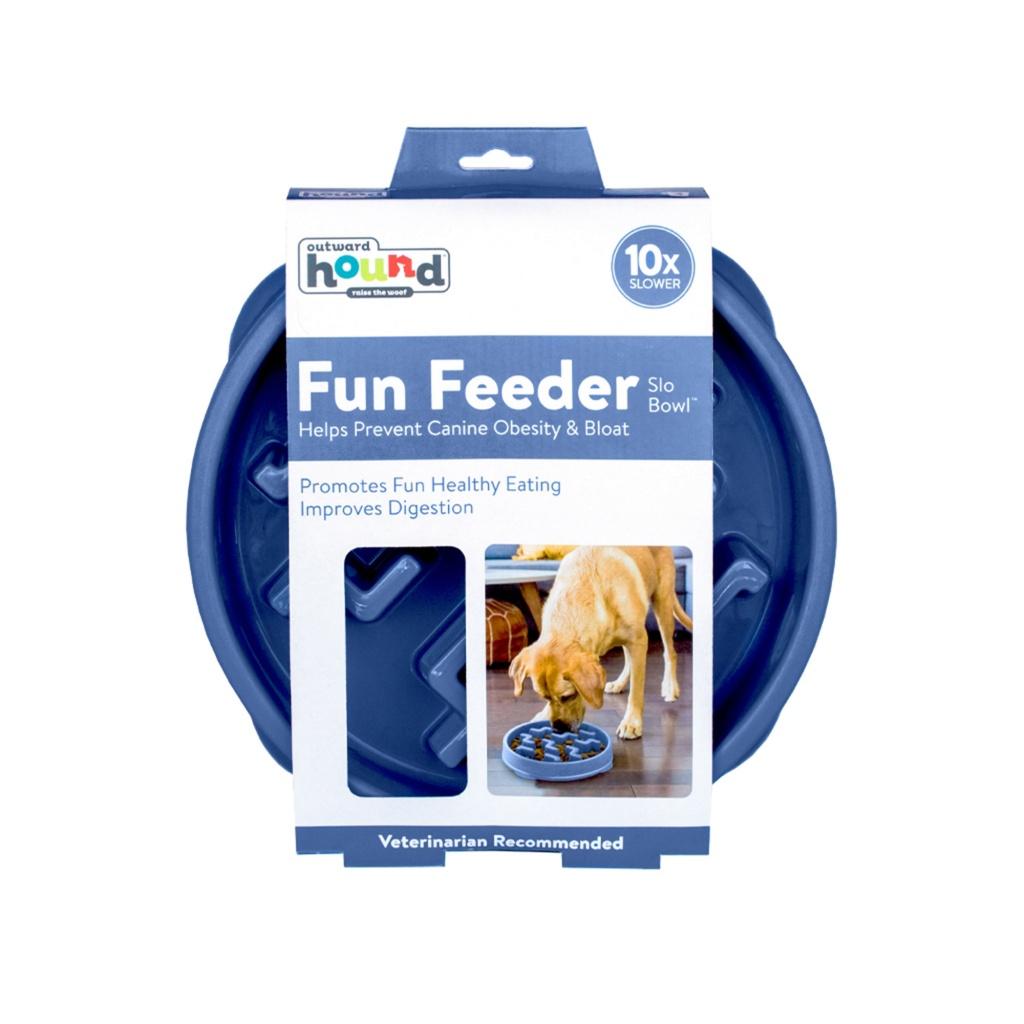 Outward Fun Feeder Large ljusblå