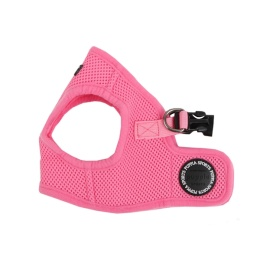 Puppia Soft vest sele rosa