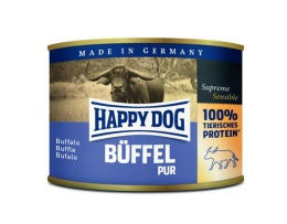 Happy Dog konserv, 100% animalisk, Buffel