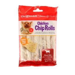 Dogman Chicken Chip Rolls 10-p