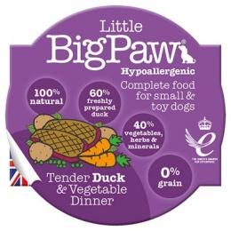 Little Big Paw Tender Duck & Vegetable Dinner