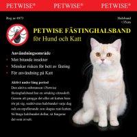 Fästinghalsband katt