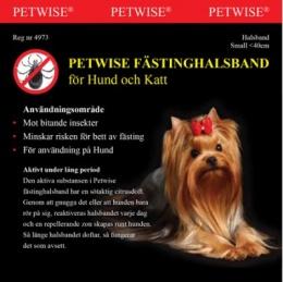 Fästinghalsband hund