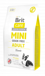 Brit Care Mini Grain Free Adult Lamb