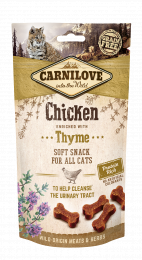Carnilove Cat Snack Semi Moist Chicken & Thyme