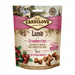 Carnilove Dog Crunchy Snack Lamb & Cranberries with fresh meat