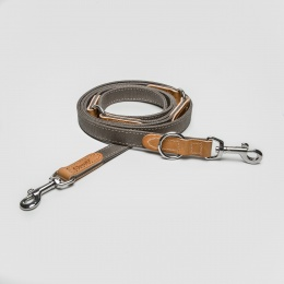 Cloud7 Tivoli Canvas Leather Leash