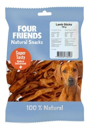 FourFriends Naturgodis FFD Lamb Sticks