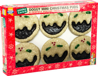 Jul! Mini Doggy Christmas Puds