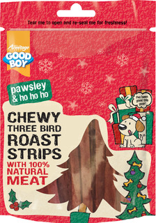 Jul! Chewy Strips with Three Bird Roast
