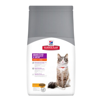 Hills SP Feline  Sensitive Skin & Stomach Chicken