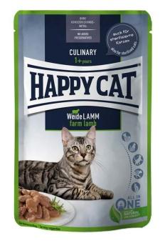 HappyCat våt/sås, lamm, 85 g