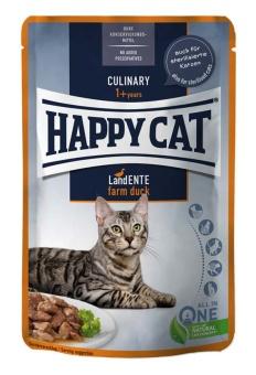 HappyCat våt/sås, anka, 85 g