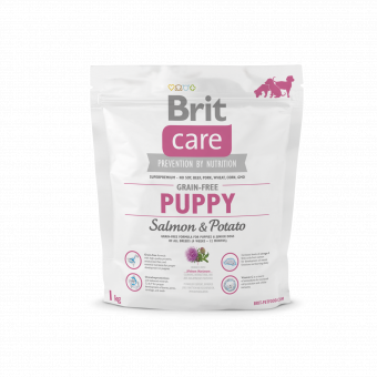 Brit Care Grain-free Puppy Salmon& Potato
