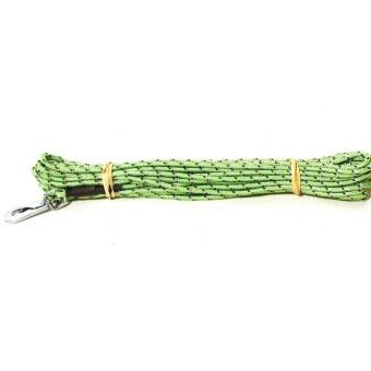 Spårlina med reflex, grön