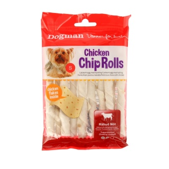 Dogman Chicken Chip Rolls 10-p