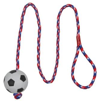 Trixie Fotboll med rep
