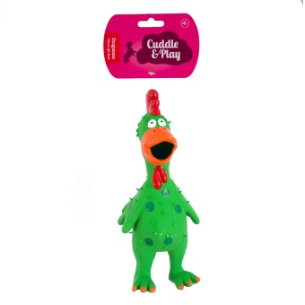 Hundleksak Grön fågel