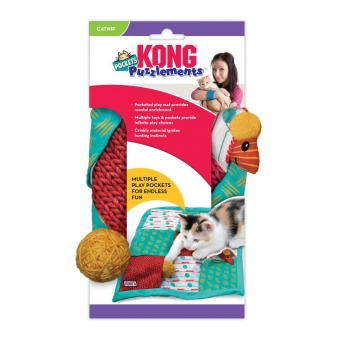 Kong Cat Aktiveringsleksak Puzz Pockets