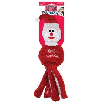 Jul! Kong Holiday Wubba Santa