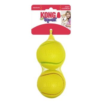Kong Leksak Squeezz Tennis 2p