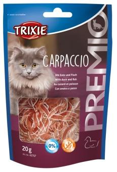 Carpaccio med anka & fisk