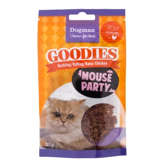 Dogman Goodies Mouse Party godis