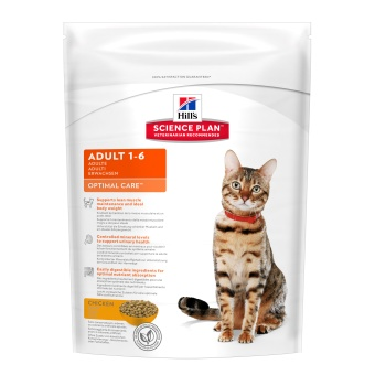 Hills SP Feline Adult Optimal care Chicken