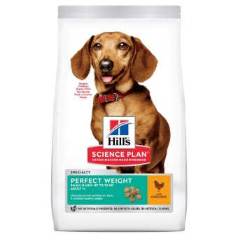 Hills SP Canine Adult Perfect Weight Small&Mini Chicken