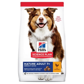 Hills SP Canine Mature Adult 7+ Medium Chicken