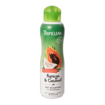 Tropiclean Luxury Papaya&Coconut schampo