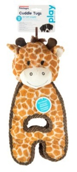 Petstages Cuddle Tug Giraffe