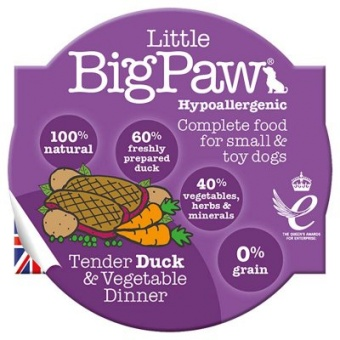 Little Big Paw Tender Duck & Vegetable Dinner
